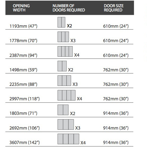 Classic Fineline Silver Frame Cappuccino Glass Door. Sliding Glass Door  Dimensions ...