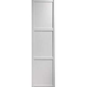 Shaker Sliding Wardrobe Door 610mm 24 White Panel Door