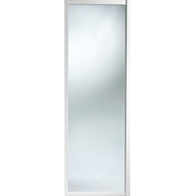 Shaker Sliding Wardrobe Door 762mm 30 White Mirror Door