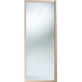 Shaker Sliding Wardrobe Door 914mm 36 Maple Mirror Door