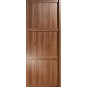 Shaker Sliding Wardrobe Door 914mm 36 Walnut Panel Door