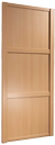 914 beech panelled door