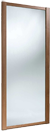 walnut mirror sliding door