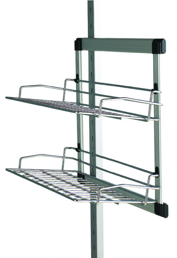 Aura Sliding Shoe Rack Wardrobe Interior Storage System