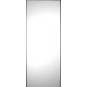 "Single Panel Silver Frame Mirror Door 914mm (36"") 