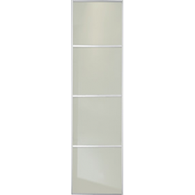 "4 Panel Soft White Glass Door 610mm (24"") 