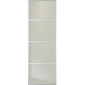 4 Panel Soft White Glass Door 762mm 30 Quot World Of Wardrobes