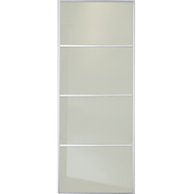 4 Panel Soft White Glass Door 914mm 36 Quot World Of Wardrobes