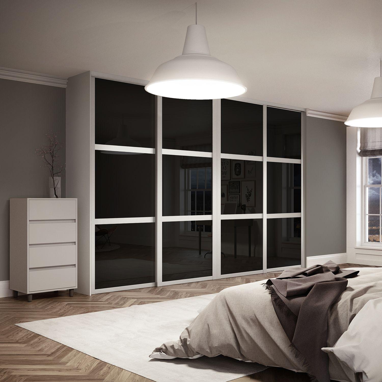 Bedroom Cupboards With Mirror Sliding Doors Bedroom Athletics Review Bedroom Furniture Arrangement Ideas 3 Bedroom Apartment Plan 3d: Shaker Sliding Wardrobe Doors